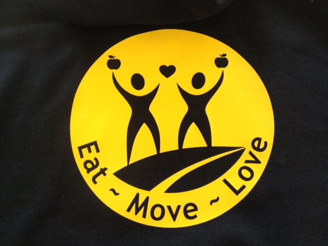 Eat Move Love Back Print